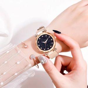 Starry Sky Ladies Luxury Shimmer Watch w/Diamonds